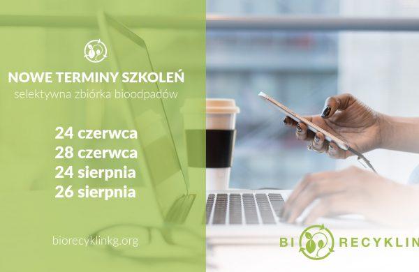 Nowe terminy szkoleń – selektywna zbiórka bioodpadów